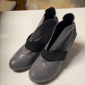 JUMP heeled boots in Grey VGC Boho Sz 6.5